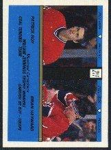 1989-90 O-Pee-Chee Stickers #211 Patrick Roy and/Brian Hayward/Jennings Trophy Winners