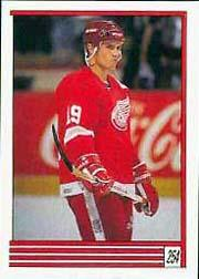 1989-90 O-Pee-Chee Stickers #254 Steve Yzerman
