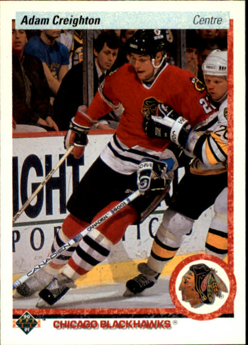 1990-91 Upper Deck French #4 Adam Creighton