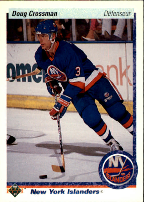 1990-91 Upper Deck French #7 Doug Crossman