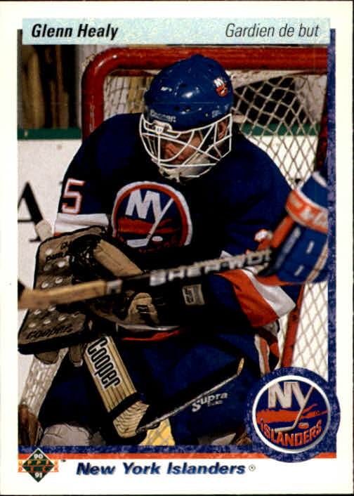 1990-91 Upper Deck French #18 Glenn Healy RC