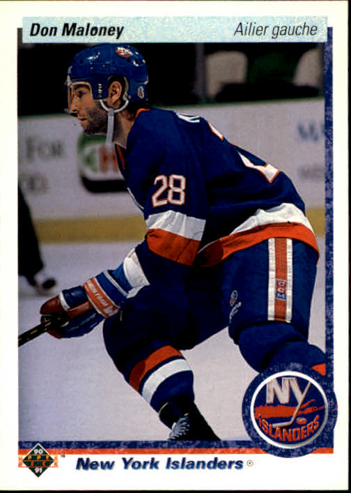 1990-91 Upper Deck French #20 Don Maloney