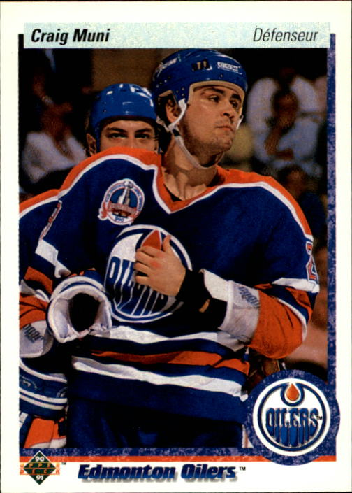 1990-91 Upper Deck French #21 Craig Muni