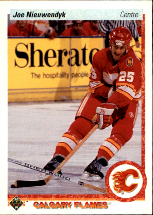 1990-91 Upper Deck French #26 Joe Nieuwendyk