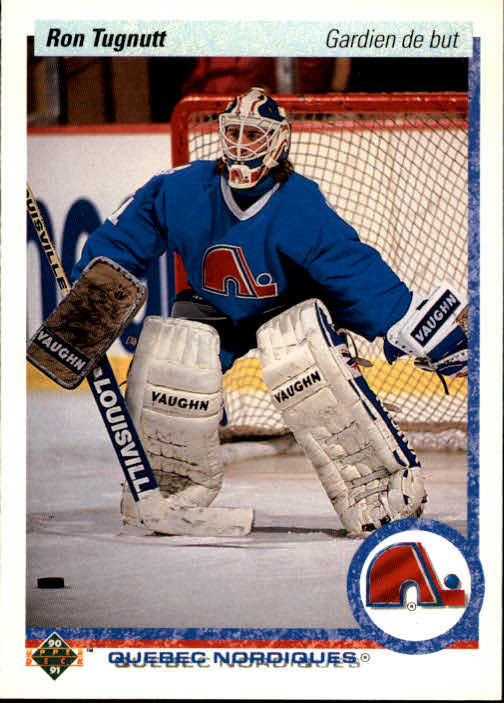 1990-91 Upper Deck French #27 Ron Tugnutt