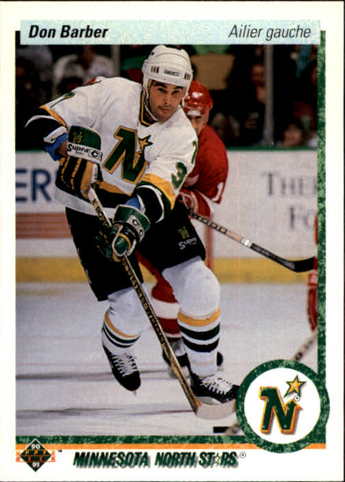 1990-91 Upper Deck French #28 Don Barber