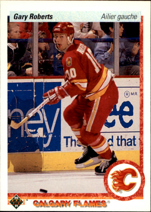 1990-91 Upper Deck French #29 Gary Roberts