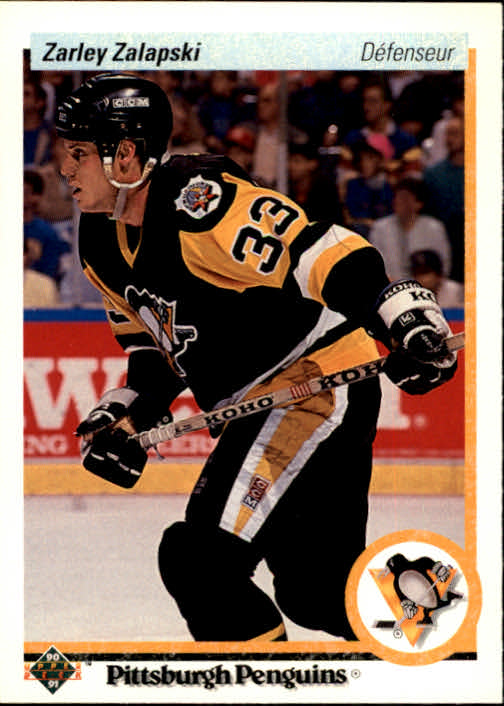1990-91 Upper Deck French #33 Zarley Zalapski