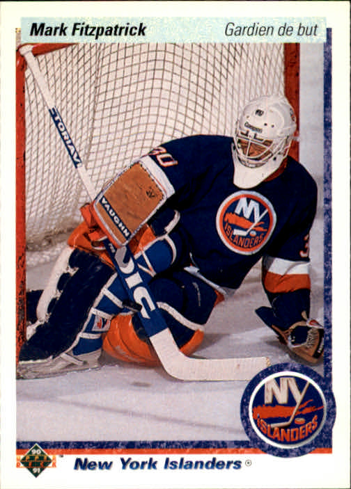 1990-91 Upper Deck French #37 Mark Fitzpatrick RC