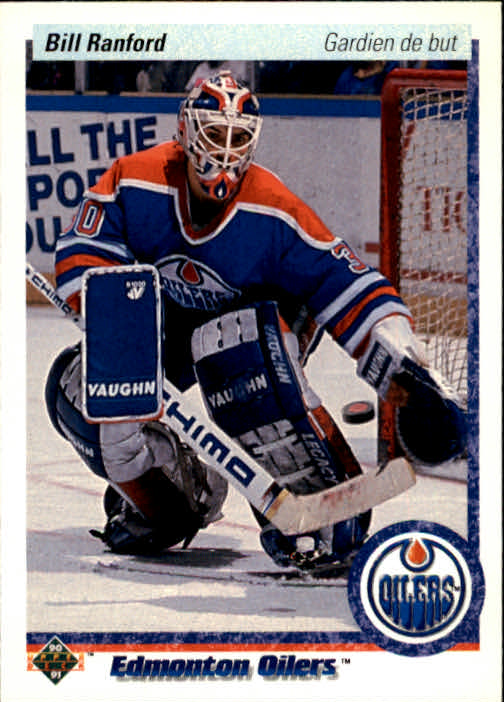 1990-91 Upper Deck French #42 Bill Ranford