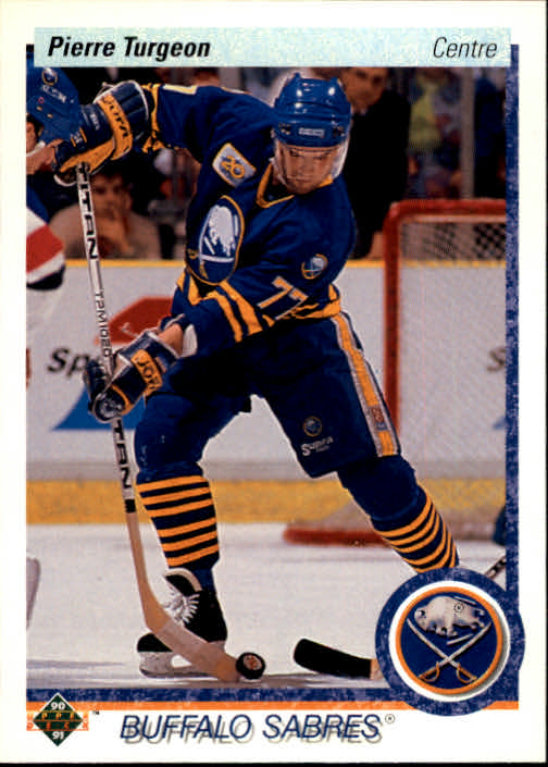 1990-91 Upper Deck French #43 Pierre Turgeon