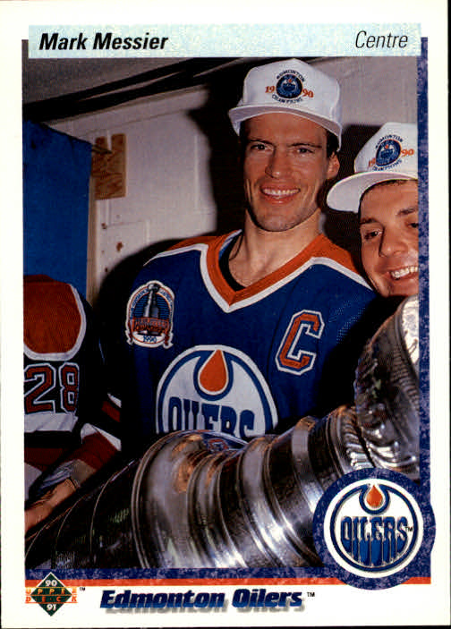 1990-91 Upper Deck French #44 Mark Messier