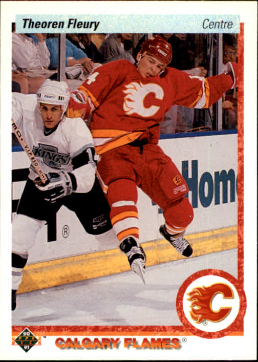 1990-91 Upper Deck French #47 Theo Fleury