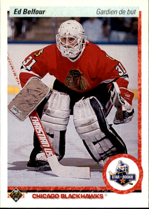 1990-91 Upper Deck French #55 Ed Belfour RC