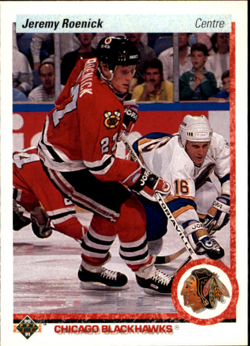1990-91 Upper Deck French #63 Jeremy Roenick RC