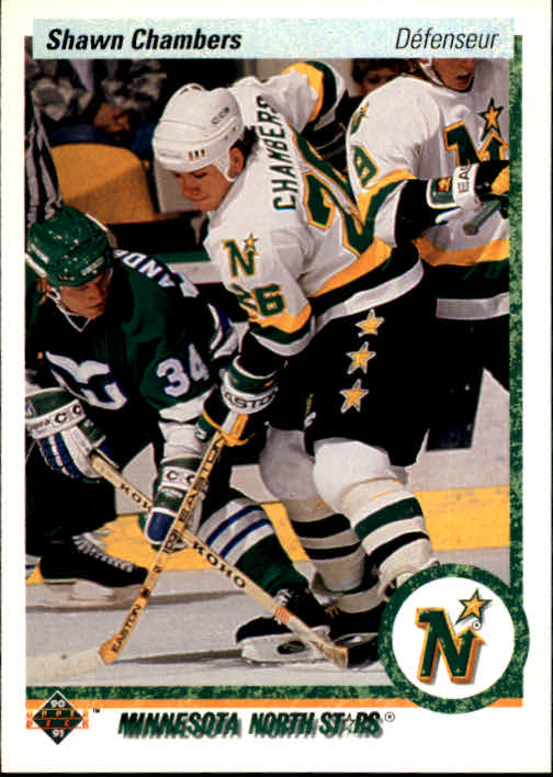 1990-91 Upper Deck French #106 Shawn Chambers