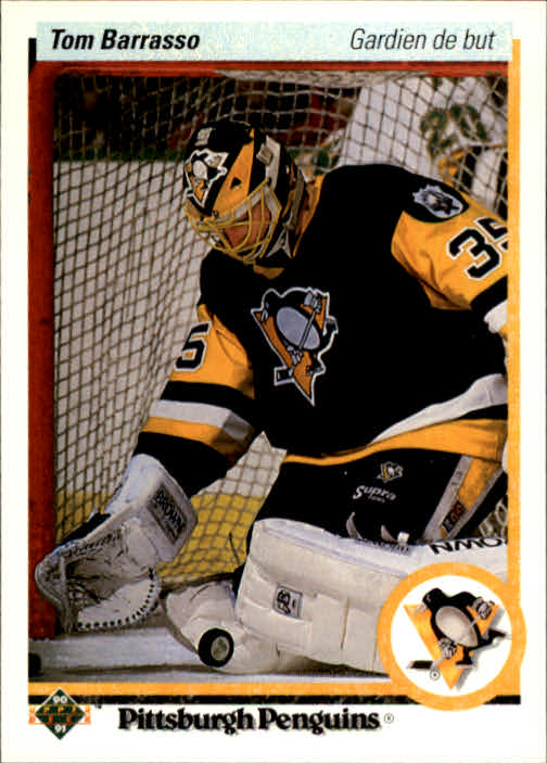 1990-91 Upper Deck French #121 Tom Barrasso