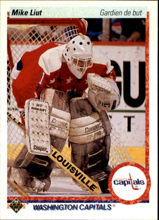 1990-91 Upper Deck French #127 Mike Liut