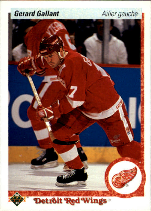 1990-91 Upper Deck French #134 Gerard Gallant