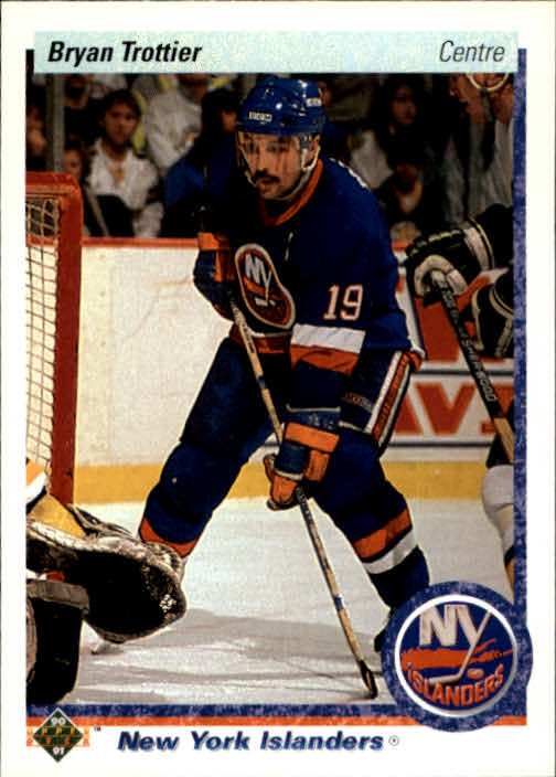 1990-91 Upper Deck French #137 Bryan Trottier