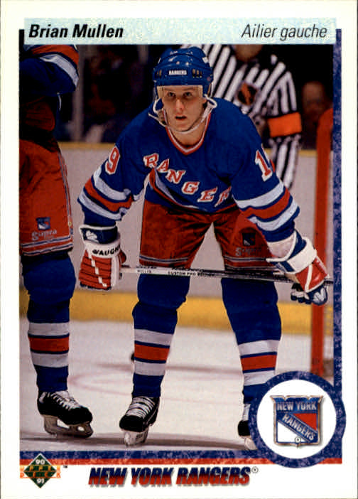 1990-91 Upper Deck French #182 Brian Mullen