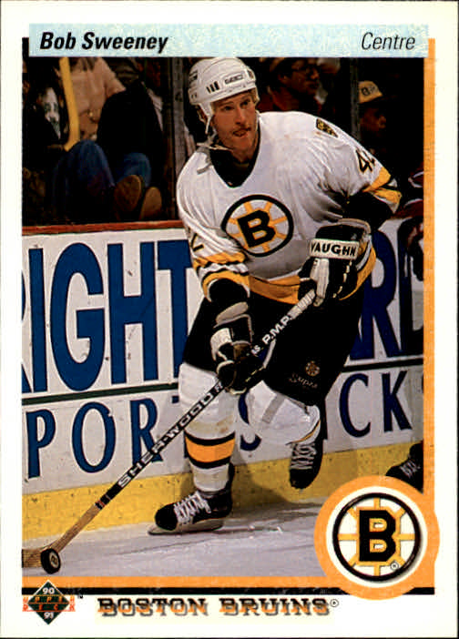 1990-91 Upper Deck French #198 Bob Sweeney