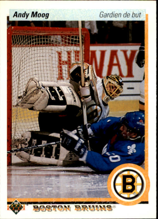 1990-91 Upper Deck French #232 Andy Moog
