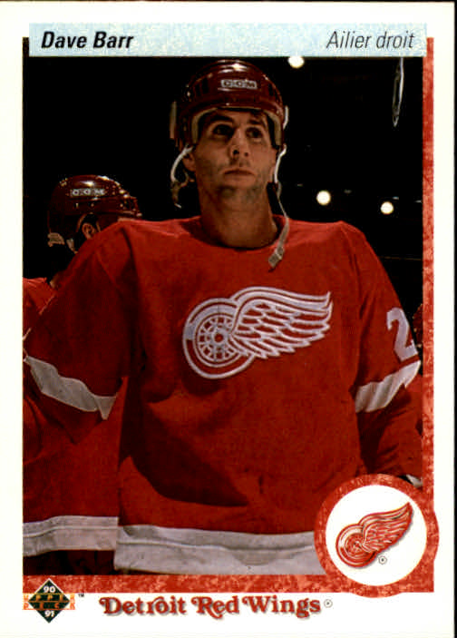 1990-91 Upper Deck French #257 Dave Barr