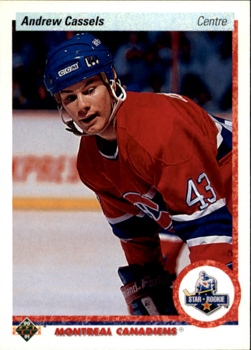 1990-91 Upper Deck French #265 Andrew Cassels RC