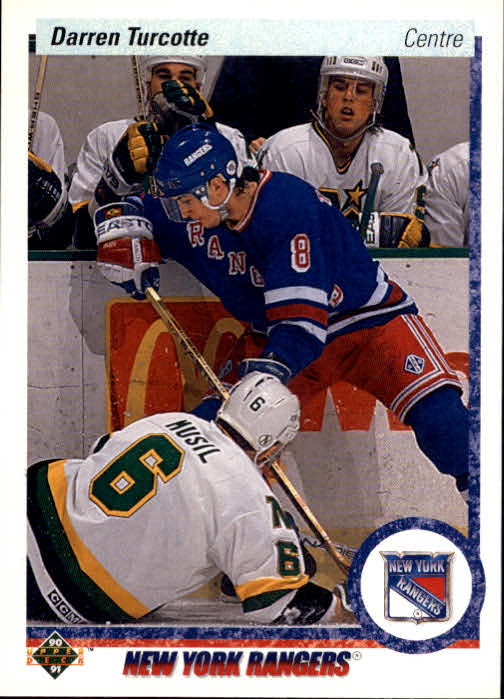 1990-91 Upper Deck French #274 Darren Turcotte RC
