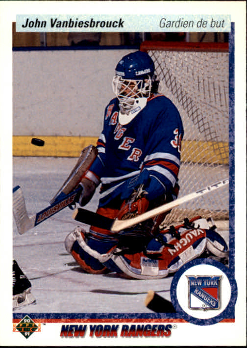 1990-91 Upper Deck French #279 John Vanbiesbrouck