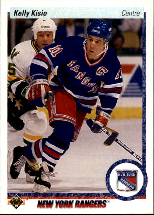 1990-91 Upper Deck French #296 Kelly Kisio
