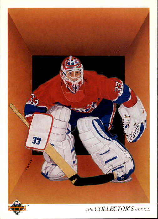 1990-91 Upper Deck French #317 Patrick Roy TC