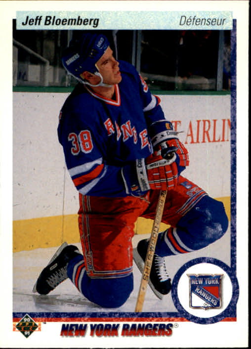 1990-91 Upper Deck French #370 Jeff Bloemberg