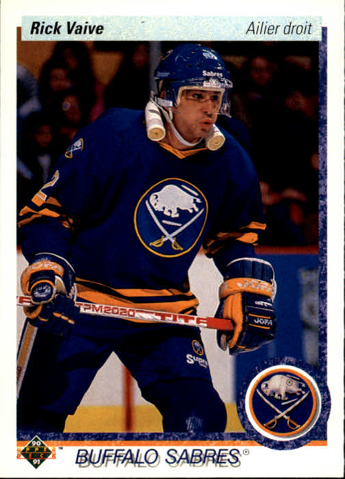 1990-91 Upper Deck French #376 Rick Vaive