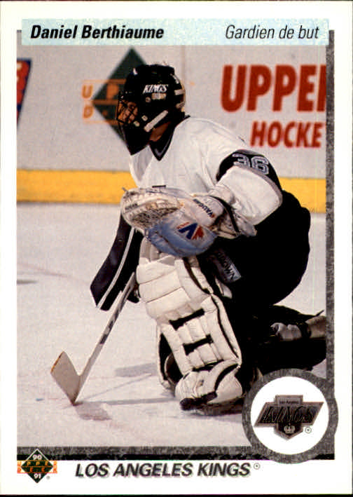1990-91 Upper Deck French #412 Daniel Berthiaume
