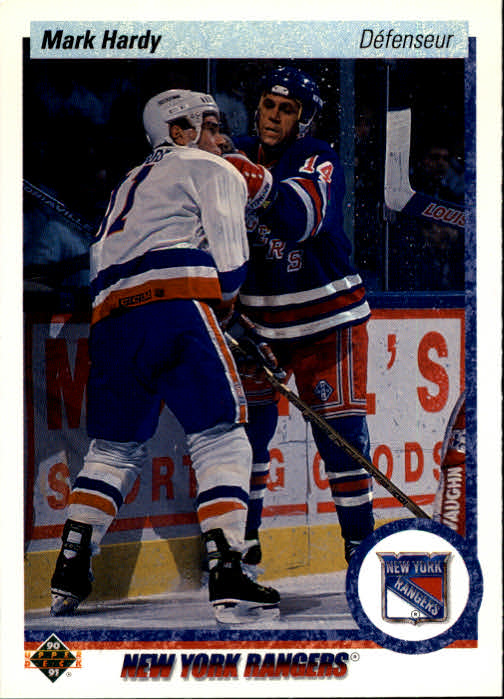 1990-91 Upper Deck French #416 Mark Hardy