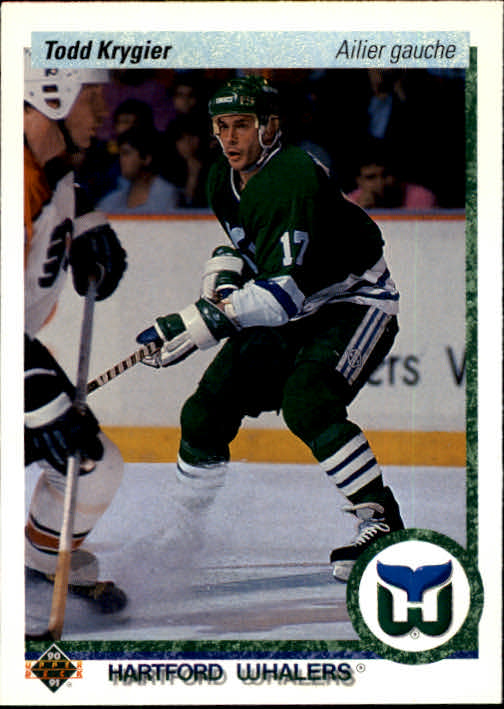 1990-91 Upper Deck French #417 Todd Krygier