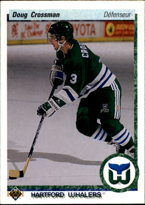 1990-91 Upper Deck French #419 Doug Crossman