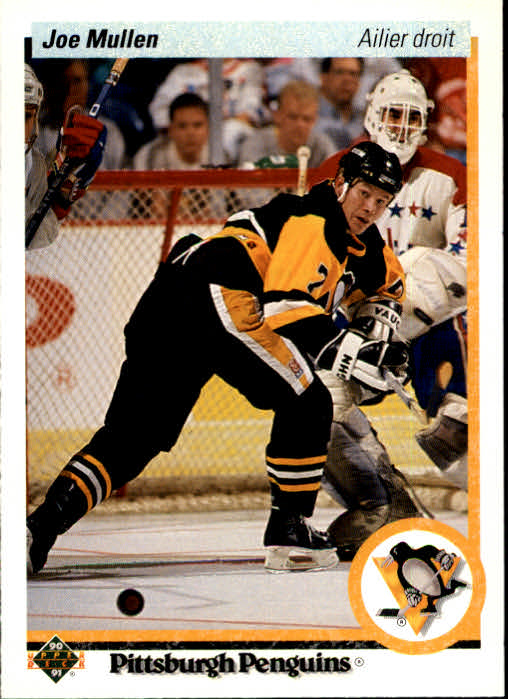 1990-91 Upper Deck French #423 Joe Mullen