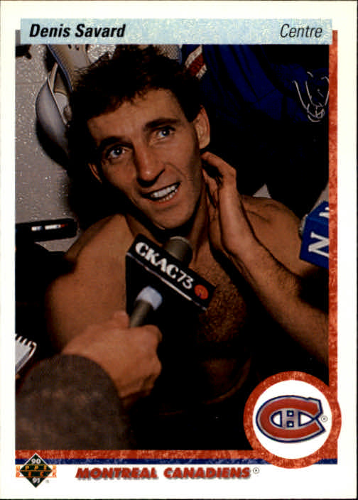 1990-91 Upper Deck French #426 Denis Savard