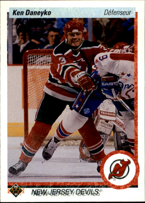 1990-91 Upper Deck French #427 Ken Daneyko