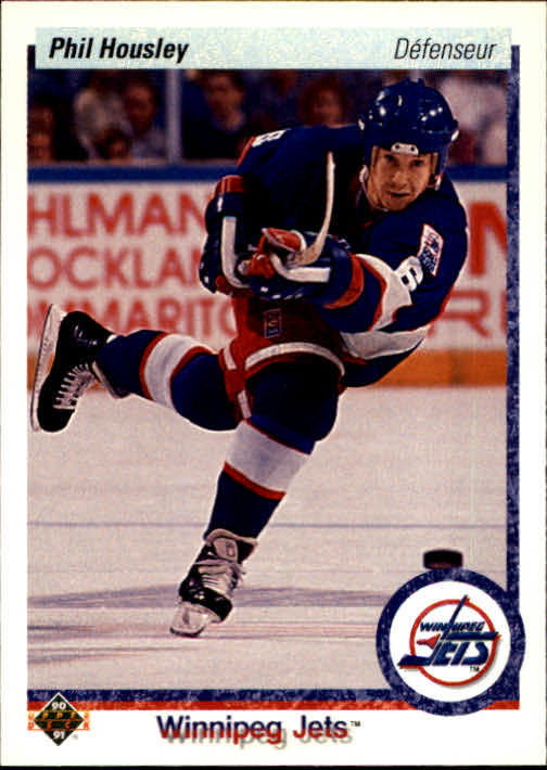 1990-91 Upper Deck French #435 Phil Housley