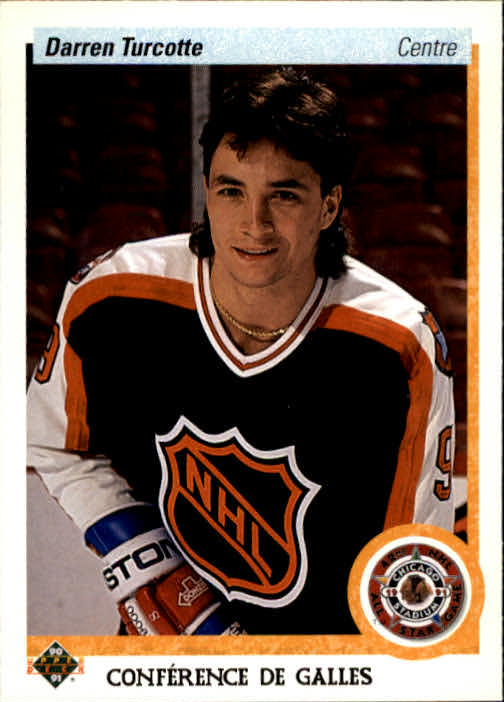 1990-91 Upper Deck French #475 Darren Turcotte AS