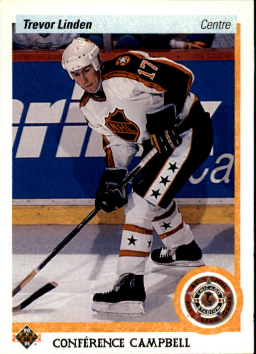 1990-91 Upper Deck French #480 Trevor Linden AS