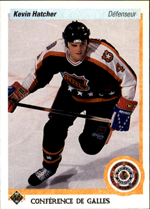 1990-91 Upper Deck French #486 Kevin Hatcher AS