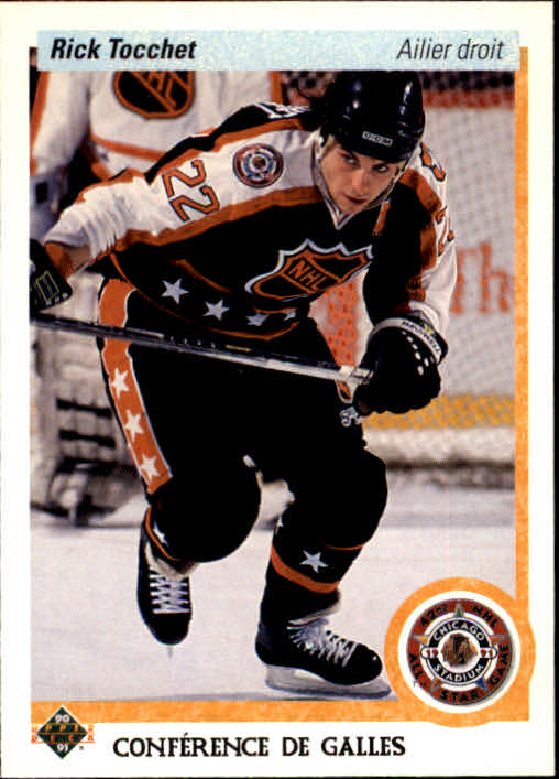 1990-91 Upper Deck French #488 Rick Tocchet AS