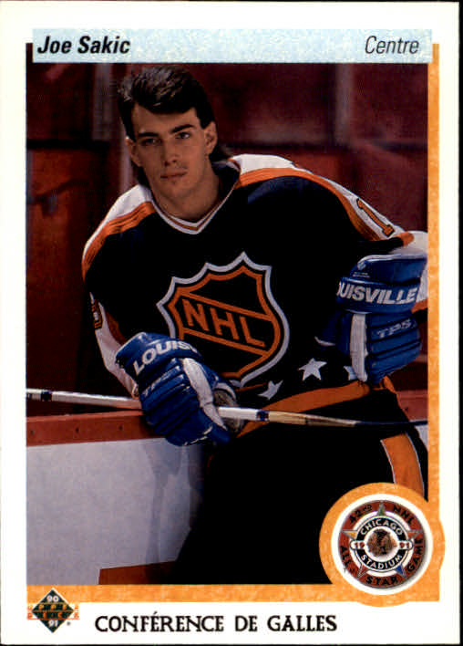 1990-91 Upper Deck French #490 Joe Sakic AS