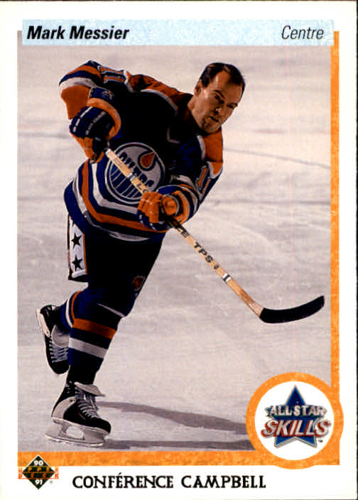 1990-91 Upper Deck French #494 Mark Messier AS