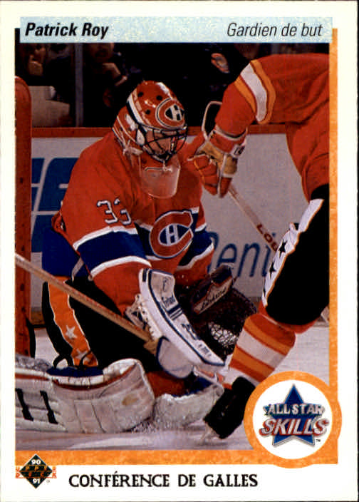 1990-91 Upper Deck French #496 Patrick Roy AS